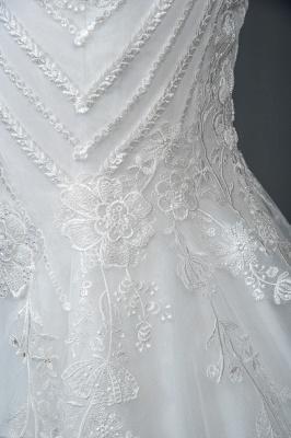 Elegante Brautkleider Meerjungfrau | Spitze Hochzeitskleider Günstig_4