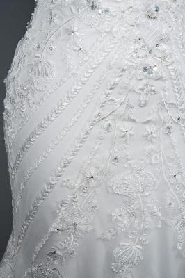 Elegante Brautkleider Meerjungfrau | Spitze Hochzeitskleider Günstig_7