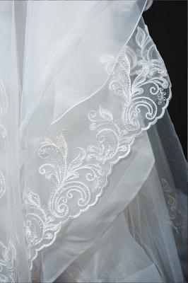 Designer Hochzeitskleider Mit Ärmel | Brautkleider A Linie Spitze_16