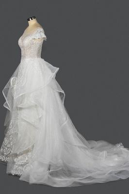 Brautkleider A Linie Günstig | Hochzeitskleider mit Spitze_4