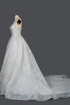 Prinzessin Hochzeitskleider Günstig | Brautkleider Glitzer_3