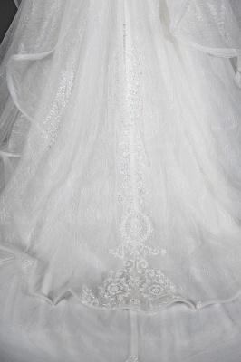 Brautkleider A Linie Günstig | Hochzeitskleider mit Spitze_3