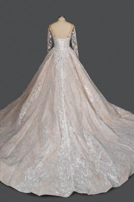 Extravagante Brautkleider Mit Ärmel | Prinzessin Hochzeitskleider Spitze_2