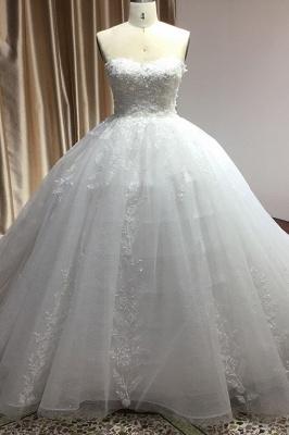 Schöne Brautkleider Prinzessin | Hochzeitskleid Tüll Mit Spitze_3