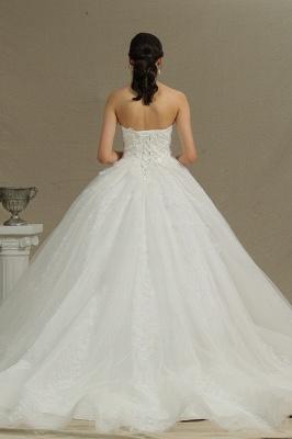 Schöne Brautkleider Prinzessin | Hochzeitskleid Tüll Mit Spitze_2