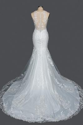 Elegante Brautkleider Meerjungfrau | Spitze Hochzeitskleider Günstig_2