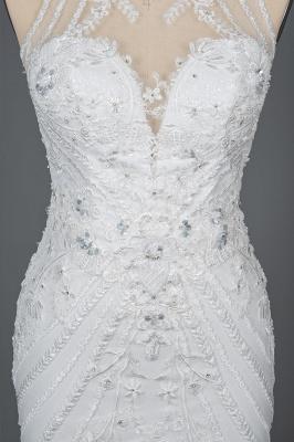 Elegante Brautkleider Meerjungfrau | Spitze Hochzeitskleider Günstig_10
