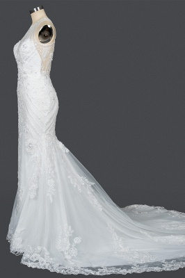 Elegante Brautkleider Meerjungfrau | Spitze Hochzeitskleider Günstig_8