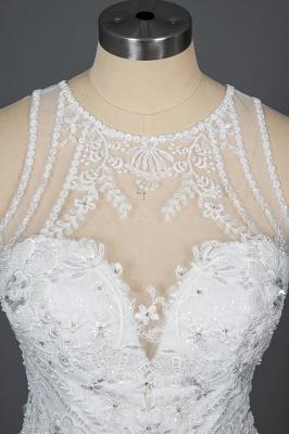 Elegante Brautkleider Meerjungfrau | Spitze Hochzeitskleider Günstig_11