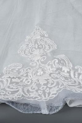 Schlichte Brautkleider Prinzessin   Hochzeitskleider mit Spitze_8