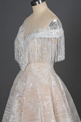 Schicke Hochzeitskleider A Linie | Brautkleider Mit Spitze_5