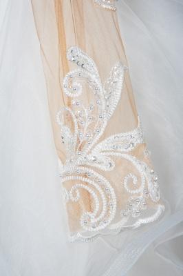 Designer Hochzeitskleider Mit Ärmel | Brautkleider A Linie Spitze_7