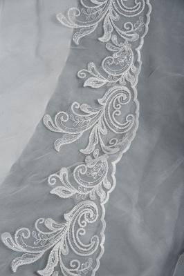 Designer Hochzeitskleider Mit Ärmel | Brautkleider A Linie Spitze_5