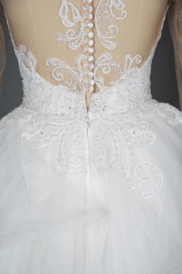 Designer Hochzeitskleider Mit Ärmel | Brautkleider A Linie Spitze_14