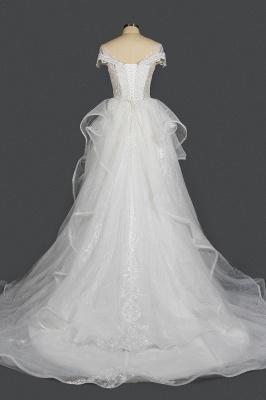 Brautkleider A Linie Günstig | Hochzeitskleider mit Spitze_2
