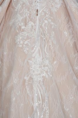 Extravagante Brautkleider Mit Ärmel | Prinzessin Hochzeitskleider Spitze_4