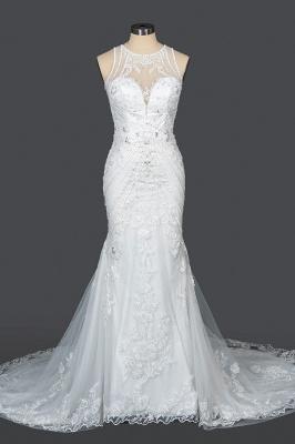 Elegante Brautkleider Meerjungfrau | Spitze Hochzeitskleider Günstig_12