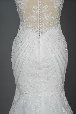 Elegante Brautkleider Meerjungfrau | Spitze Hochzeitskleider Günstig_13