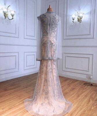 Extravagante Abendkleider Mit Ärmel | Abiballkleider Lang Glitzer_2