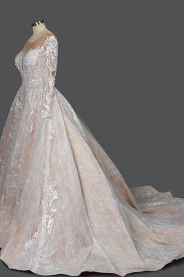 Extravagante Brautkleider Mit Ärmel | Prinzessin Hochzeitskleider Spitze_3