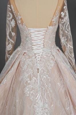 Extravagante Brautkleider Mit Ärmel | Prinzessin Hochzeitskleider Spitze_9