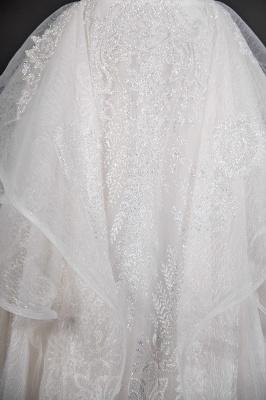 Brautkleider A Linie Günstig | Hochzeitskleider mit Spitze_6