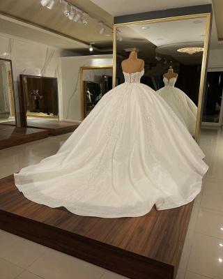 Luxus Hochzeitskleider Glitzer Prinzessin | Brautkleider Günstig Online_2