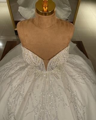 Luxus Hochzeitskleider Glitzer Prinzessin | Brautkleider Günstig Online_3