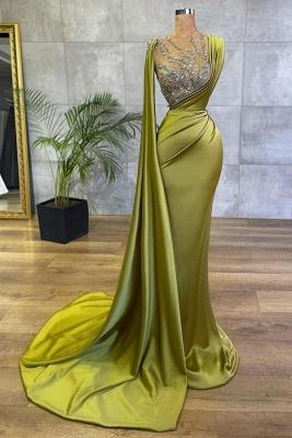 Elegante Abiballkleider Grün | Abendkleider Lang Glitzer
