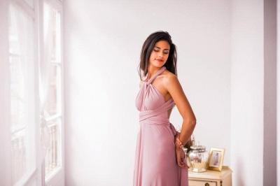Wandelbare Brautjungfernkleider Rosa   Kleider für Brautjungfern_5
