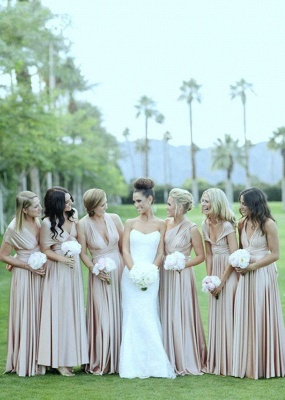 Designer Wandelbare Brautjungfernkleider | Kleider für Brautjungfern Günstig