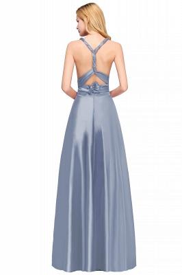 Wandelbare Brautjungfernkleider Blau   Brautjungfernkleid Lang Günstig_3