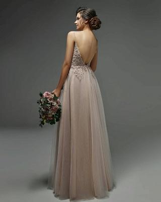 Schlichtes Brautkleider mit Spitze   Etuikleider Hochzeitskleider Online_2