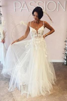 Schlichte Hochzeitskleider Mit Spitze | Brautkleider A Linie Günstig