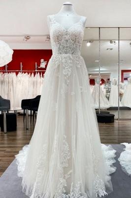 Brautkleider A Linie Spitze | Brautmoden Online Kaufen