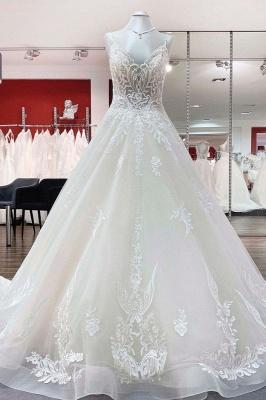 Schöne Hochzeitskleider A Linie | Brautkleid Mit Spitze