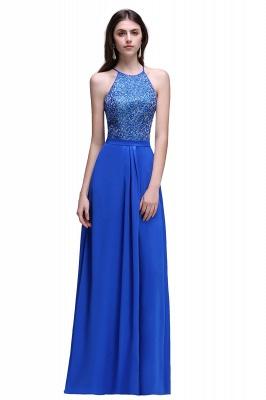 Abendkleider Lang Blau | Abiballkleider Günstig_1