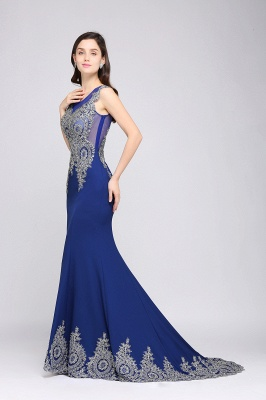 Abendkleider Lang Blau | Abiballkleider mit Glitzer_4
