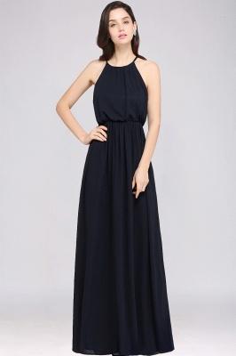 Schlichte Damenmoden   Chiffon Kleider Abendkleider Lang_6
