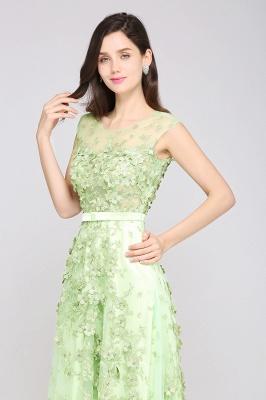 Grüne Abendkleider Lang | Abiballkleider Spitze Günstig_4