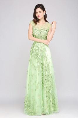 Grüne Abendkleider Lang | Abiballkleider Spitze Günstig_5