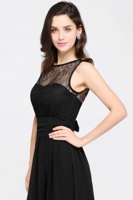 Schwarze Damenmoden Günstig | Abendkleider Lang Chiffon_14