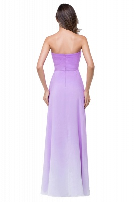 Lavender Abendkleider Lang Günstig   Schlichtes Abiballkleid_3