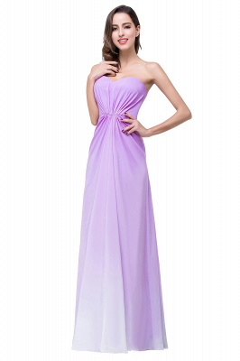 Lavender Abendkleider Lang Günstig   Schlichtes Abiballkleid_8