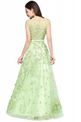 Grüne Abendkleider Lang | Abiballkleider Spitze Günstig_3