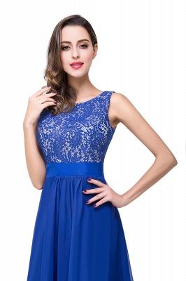 Schlichtes Abendkleid Blau | Abendkleider Lang Günstig_11
