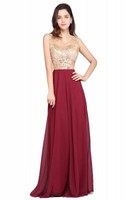 Rote Abendkleider mit Spitze | Abiballkleider Lang Günstig_1