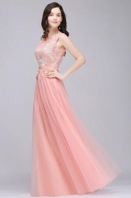 Rosa Abendkleider Lang Günstig | Abendmoden Online_6