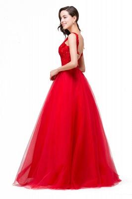 Rote Abendkleider Lang Günstig | Abendmoden Abiballkleider_8