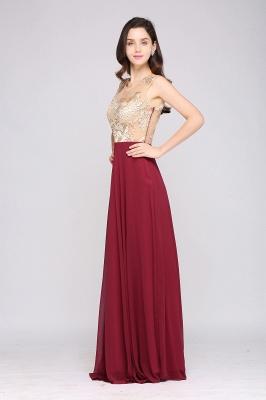 Rote Abendkleider mit Spitze | Abiballkleider Lang Günstig_5